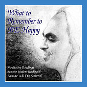 What to Remember to Be Happy - Single by Ray Lynch