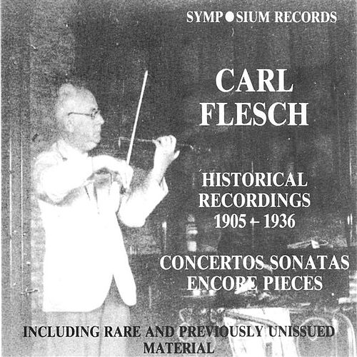 Play & Download Carl Flesch (1905-1944) by Various Artists | Napster