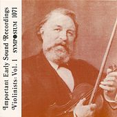Play & Download Great Violinists, Vol. 1 (1903-1944) by Various Artists | Napster
