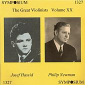 The Great Violinists, Vol. 20 (1939-1965) by Various Artists