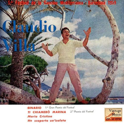 Play & Download Vintage Italian Song No. 52 - EP: 1º Festival Del Mediterraneo by Claudio Villa | Napster
