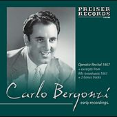 Play & Download Early Recordings  1951-1960 by Carlo Bergonzi | Napster