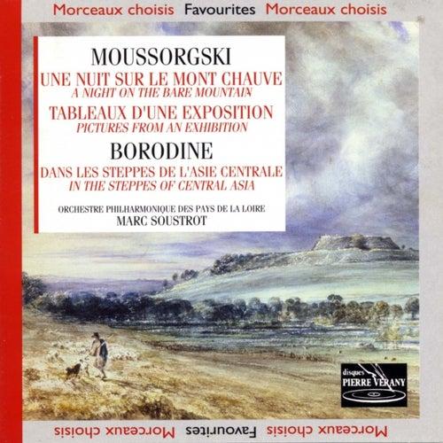 Mousorgski : Une nuit sur le mont chauve - tableaux d'une exposition borodine : Dans les steppes d'asie centrale by Marc Soustrot Orchestre Philharmonique des Pays de la Loire