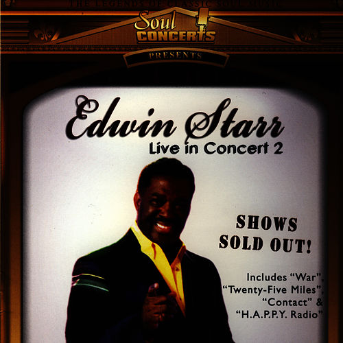 Live From the U.K. by Edwin Starr