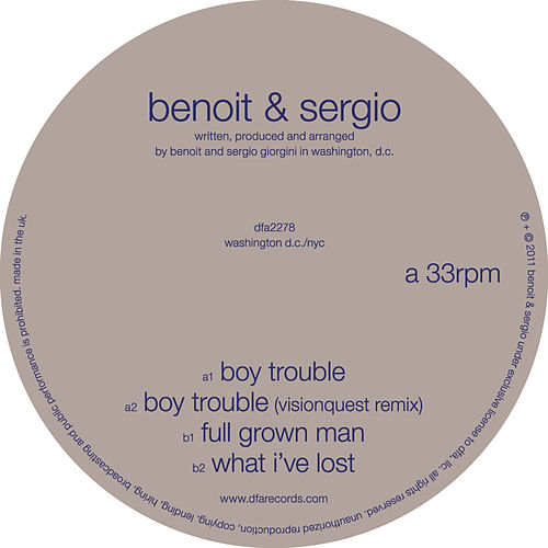 Play & Download Boy Trouble by Benoit & Sergio | Napster