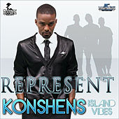 Play & Download Represent by Konshens | Napster