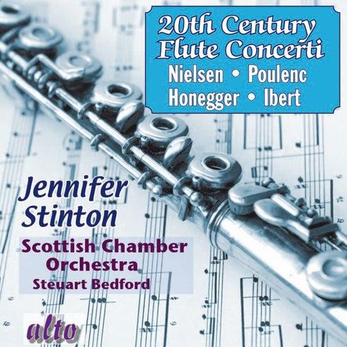 Twentieth Century Flute Concerti: Poulenc, Nielsen, Ibert, Honegger by Jennifer Stinton