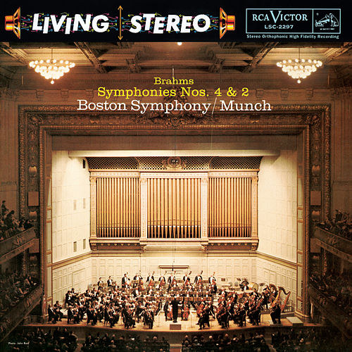 Brahms: Symphonies No. 4 in E Minor, Op. 98 & No. 2 in D Major, Op. 73 - Sony Classical Originals by Charles Munch