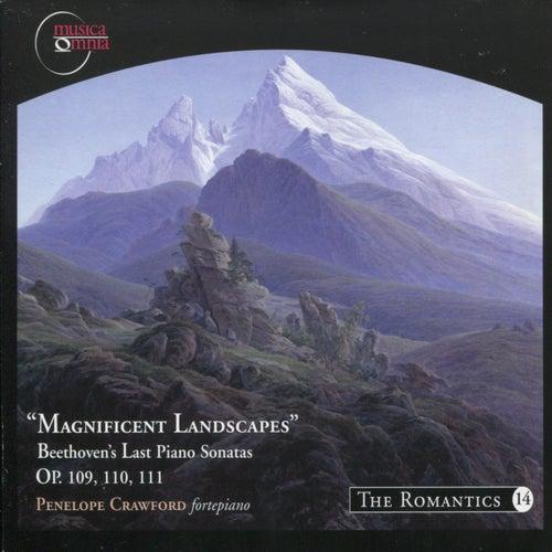 Beethoven: Sonata's No. 30, 31 & 32 - 'Magnificant Landscapes' von Penelope Crawford