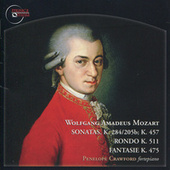 Mozart: Sonatas in D Major & C Minor, Rondo in A Minor & Fantasie in C Minor by Penelope Crawford