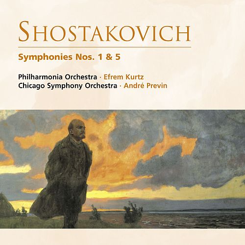 Shostakovich: Symphonies Nos. 1 & 5 by Various Artists