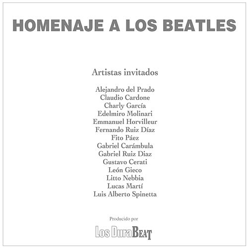 Play & Download Homenaje a Los Beatles (Producido por Los Durabeat) by Various Artists | Napster