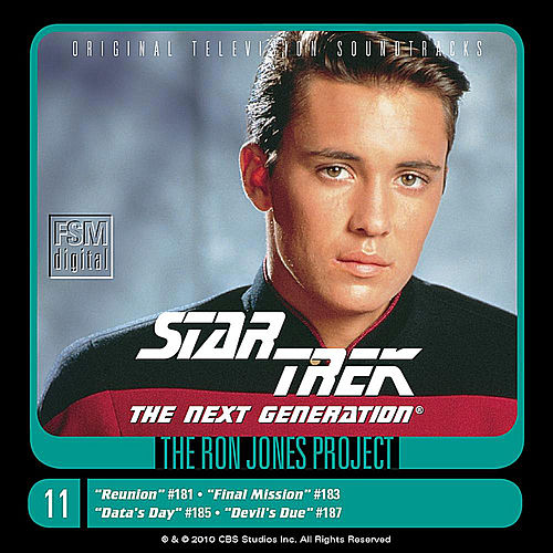 Star Trek: The Next Generation, 11: Reunion/Final Mission/Data's Day/Devil's Due by Ron Jones