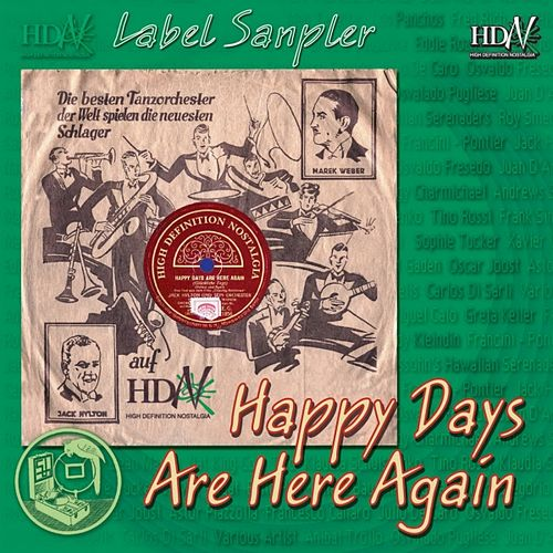 Hdn Label Sampler (Happy Days Are Here Again) by Various Artists