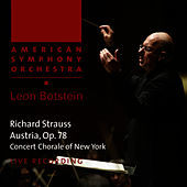 Play & Download Strauss: Austria, Op. 78 by American Symphony Orchestra | Napster
