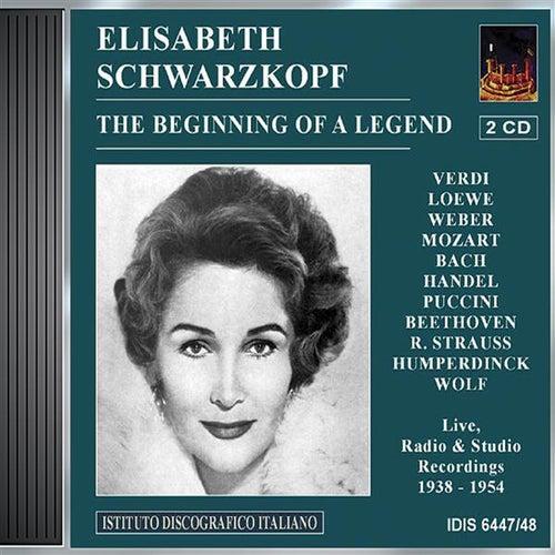 Play & Download Vocal Recital: Schwarzkopf, Elisabeth - Verdi, G. / Loewe, C. / Weber, C.M. Von / Mozart, W.A. / Bach, J.S. / Handel, G.F. / Beethoven, L. Van by Various Artists | Napster