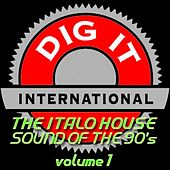 Play & Download The Italo House Sound of the 90's, Vol. 1 (Best of Dig-it International) by Various Artists | Napster