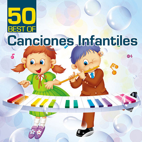 50 Best Of Canciones Infantiles by The Countdown Kids