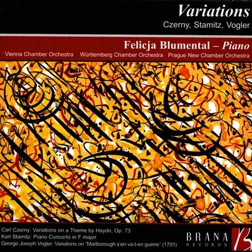 Play & Download Variations: Czerny, Stamitz, Vogler by Felicja Blumental | Napster