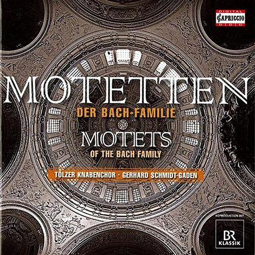 Play & Download Motets of the Bach Family by Gerhard Schmidt-Gaden | Napster