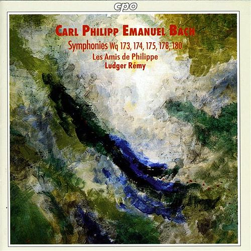 Bach, C.P.E: Symphonies in E Minor / G Major / F Major / C Major / G Major by Ludger Remy