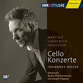 Martinů, Hindemith, Honegger: Cello Concertos by Various Artists