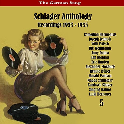 Play & Download The German Song: Schlager Anthology, Vol. 5 - Recordings 1933 - 1935 by Various Artists | Napster
