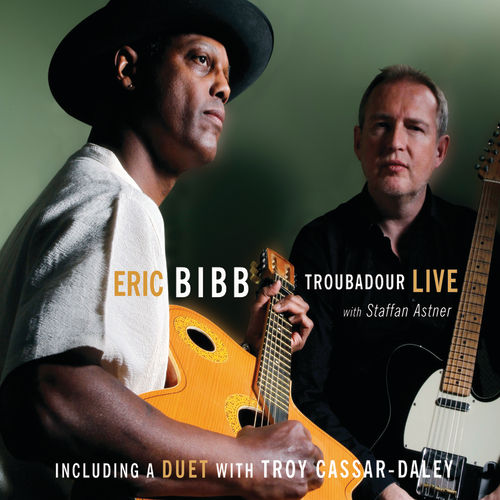 Play & Download Troubadour Live by Eric Bibb | Napster
