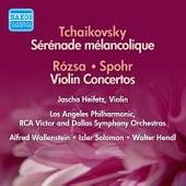 Play & Download Rozsa / Spohr: Violin Concertos / Tchaikovsky: Serenade Melancolique (Heifetz) (1954-56) by Jascha Heifetz | Napster