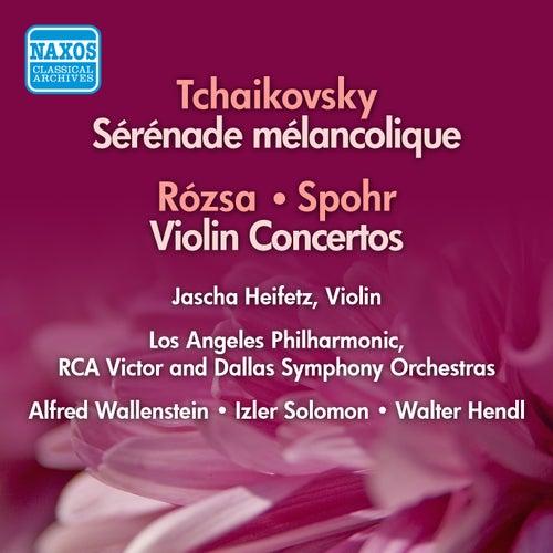 Play & Download Rozsa / Spohr: Violin Concertos / Tchaikovsky: Serenade Melancolique (Heifetz) (1954-56) by Jascha Heifetz   Napster