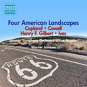 Gilbert, H.F. / Copland / Ives / Cowell: 4 American Landscapes / Joio: New York Profiles (1947-1949) by Various Artists