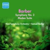 Barber: Medea Suite / Symphony No. 2 (Barber) (1950) von Samuel Barber