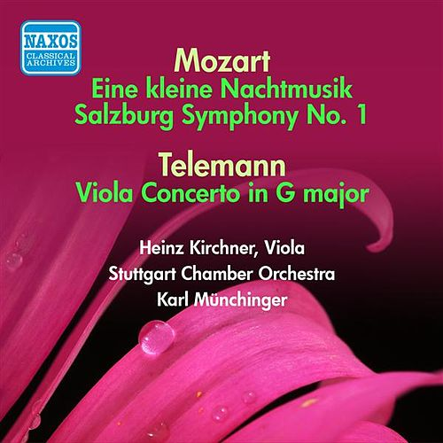 Play & Download Mozart: Kleine Nachtmusik (Eine) / Divertimento, K. 136 / Telemann: Viola Concerto (Munchinger) (1951-1952) by Karl Munchinger | Napster