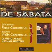 Schumann: Piano Concerto Op.54 - Brahms: Violin Concerto Op.77 by New York Philharmonic
