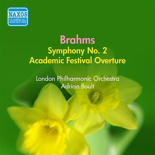 Play & Download Brahms: Symphony No. 2 (Boult) (1954) by Adrian Boult | Napster