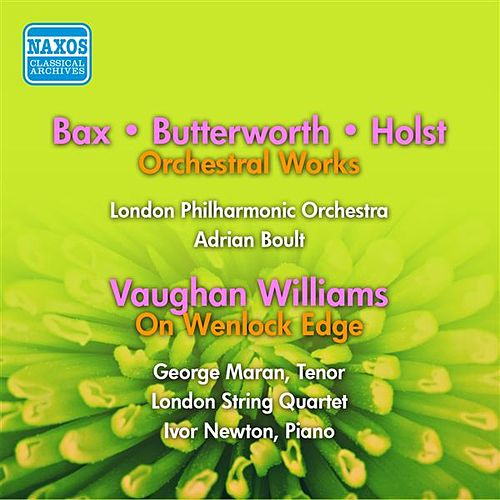 Play & Download Vaughan Williams: On Wenlock Edge / Bax: Tintagel / Butterworth: The Banks of Green Willow / A Shropshire Lad (Boult) (1955, 1956) by Various Artists | Napster