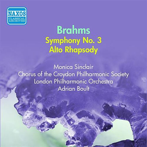 Play & Download Brahms: Symphony No. 3 (Boult) (1954) by Adrian Boult | Napster