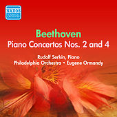 Play & Download Beethoven: Piano Concertos Nos. 2, 4 (Serkin) (1954-1955) by Rudolf Serkin | Napster