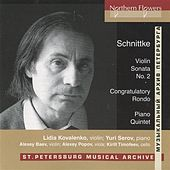 Schnittke: Works for Piano and Strings by Yuri Serov