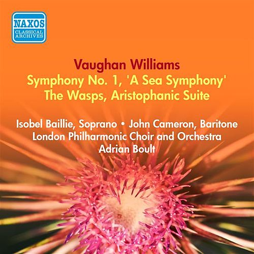 Play & Download Vaughan Williams, R.: Symphony No. 1, 'A Sea Symphony' / The Wasps (Boult) (1953-1954) by Adrian Boult | Napster