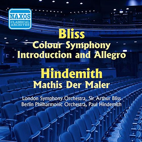 Play & Download Bliss: Colour Symphony / Hindemith: Symphony, 'Mathis Der Maler' (Bliss, Hindemith) (1955) by Various Artists | Napster