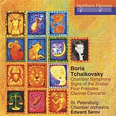 Play & Download Tchaikovsky: Chamber Symphony - Signs of the Zodiac - 4 Preludes for Chamber Orchestra - Clarinet Concerto by Edward Serov | Napster