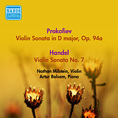 Play & Download Prokofiev, S: Violin Sonata, Op. 94A / Handel, G.F.: Violin Sonata in D Major, Hwv 371 / Vitali, T.: Chaconne (Milstein) (1955) by Nathan Milstein | Napster