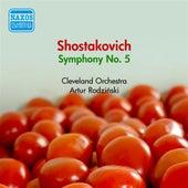 Play & Download Shostakovich, D.: Symphony No. 5 (Cleveland Orchestra, Rodzinski) (1950) by Artur Rodzinski | Napster