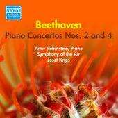 Beethoven: Piano Concertos Nos. 2 and 4 (Rubinstein) (1956) by Arthur Rubinstein