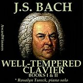 Play & Download Bach, Vol. 08 - the Well-Tempered Clavier by Rosalyn Tureck | Napster