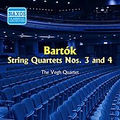 Bartok: String Quartets Nos. 3 and 4 (Vegh Quartet) (1954) by Vegh Quartet