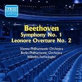 Beethoven: Symphony No. 1 / Leonore Overture No. 2 (Furtwangler) (1952-54) by Wilhelm Furtwängler