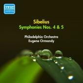 Sibelius, J.: Symphonies Nos. 4, 5 (Ormandy) (1954) by Eugene Ormandy
