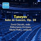 Play & Download Taneyev: Suite De Concert (Oistrakh) (1955) by David Oistrakh | Napster